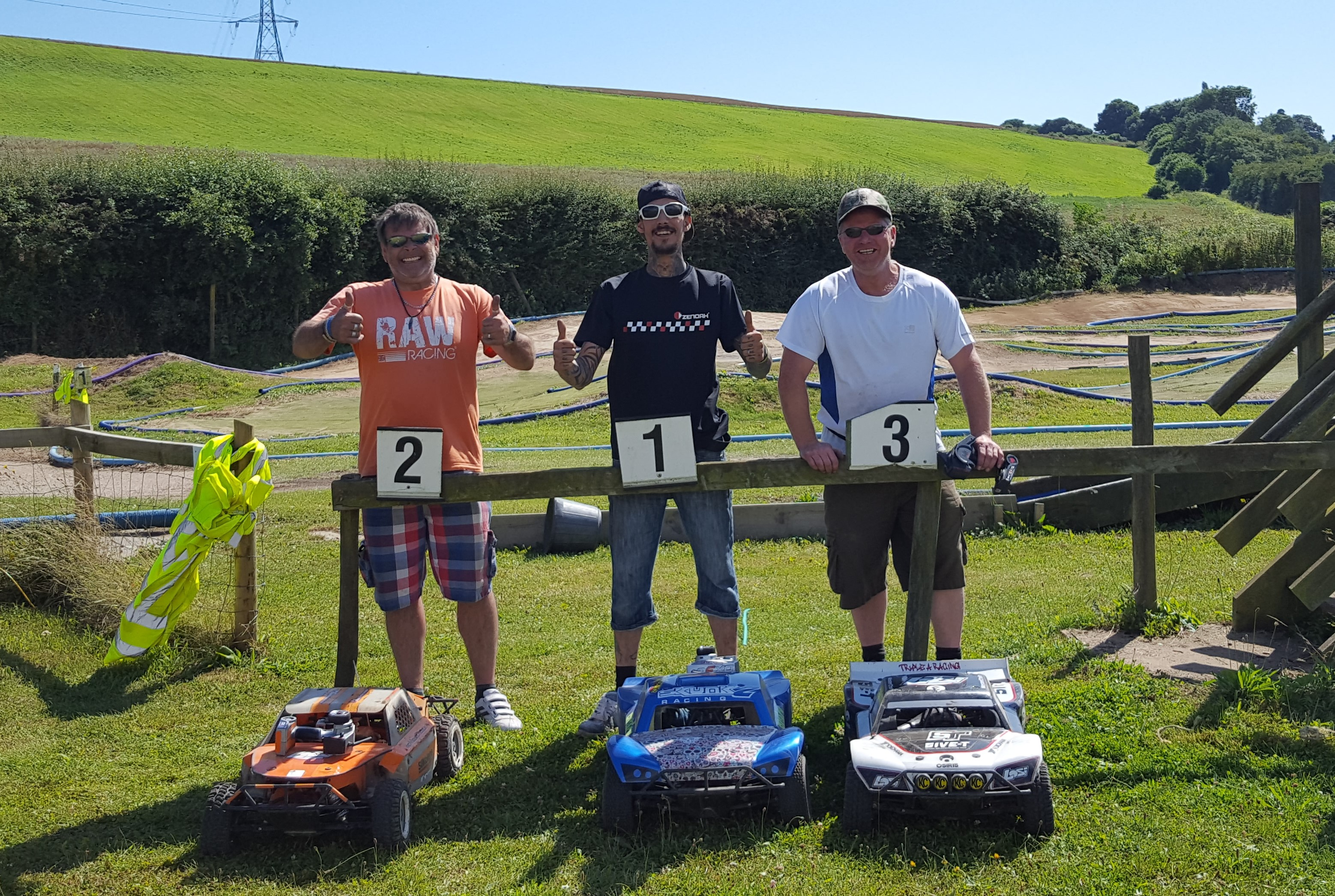 Photo RD5 7th August 2016 1/5th Winners